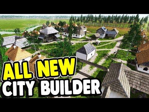 FIRST LOOK: BRUTAL NEW CITY BUILDER   Ostriv Gameplay