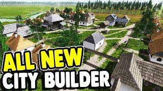 FIRST LOOK: BRUTAL NEW CITY BUILDER | Ostriv Gameplay