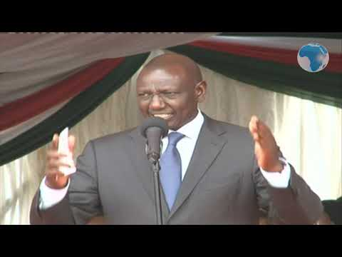 Deputy President William Rutos speech at the launch of Kisii Hospital Project