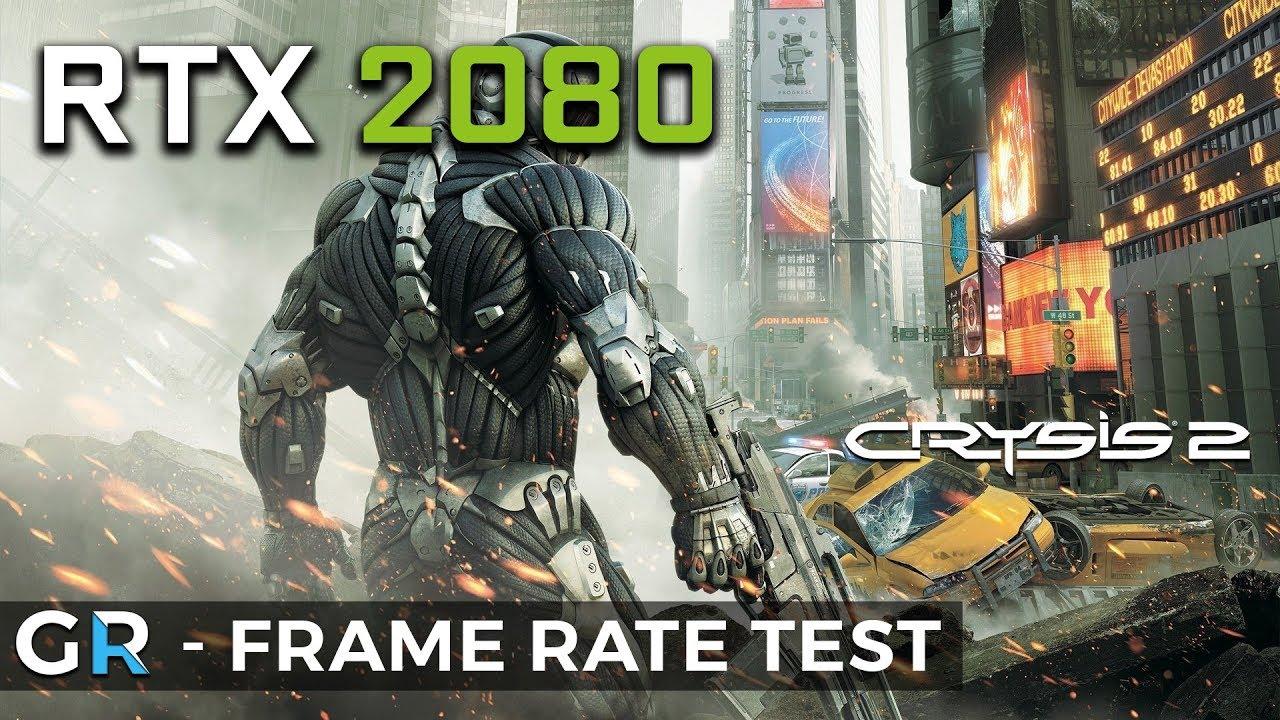 RTX 2080 CRYSIS 2 MAXIMUM EDITION MaLDoHD 4.0   4K/2160p/Max Settings   Frame Rate Benchmark Test