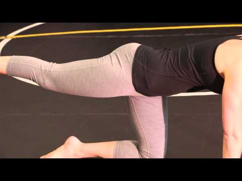 Quadruped Hip Extension Exercise for Glutes Butt and Core Strength Stability