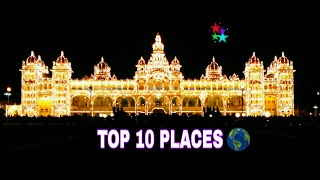 TOP 10 MOST BEAUTIFUL PLACES IN THE WORLD  !