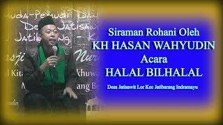 Kh Hasan Wahyudin Acara Halal Bilhalal Desa Jatisawit Lor