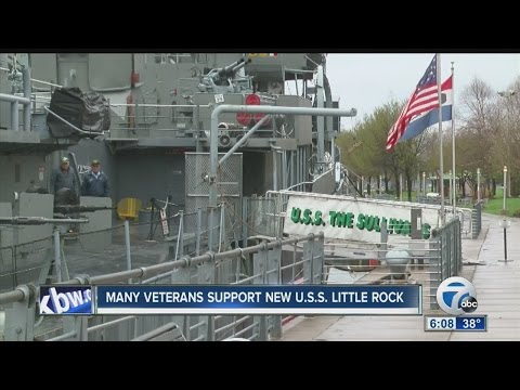 Veterans react to USS Little Rock commission