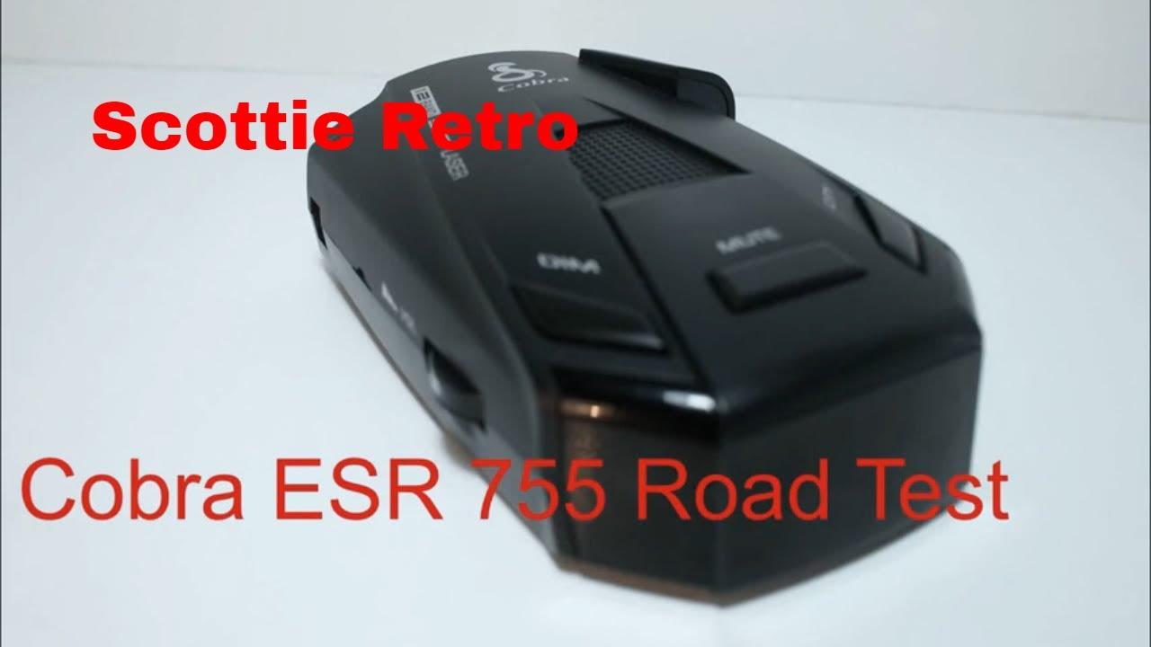 Cobra 755 radar detector road test