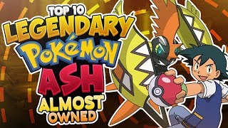 Top 10 LEGENDARY Pokémon Ash Ketchum Almost Owned MP3