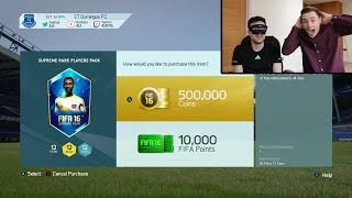 THE HALF A MILLION COIN PACK!!! Fifa 16 Pack Opening