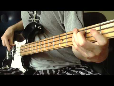 [HD] Run To The Hills - Iron Maiden - Bass Cover