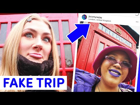 We Faked A London Trip On Instagram For A Week