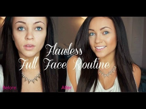 Flawless Full Face Routine