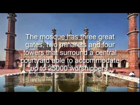 The Architectural Opus called Jama Masjid
