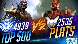Brandito vs Plats! Can 3 TOP 500s Beat 6 PLATS??