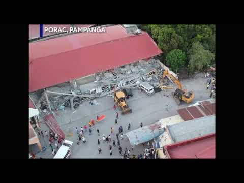Землетрясение магнитудой 6.1  Манила  Филиппины
