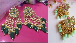 Beautiful Meenakari enamel earrings  with prices and contact details