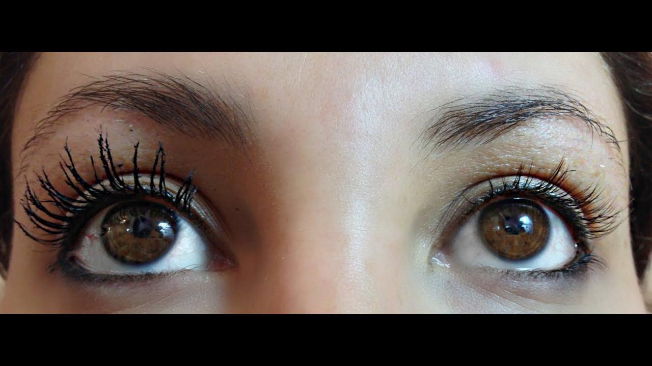 Review & Demo Extensions Mascaras better than false lashes vs ...