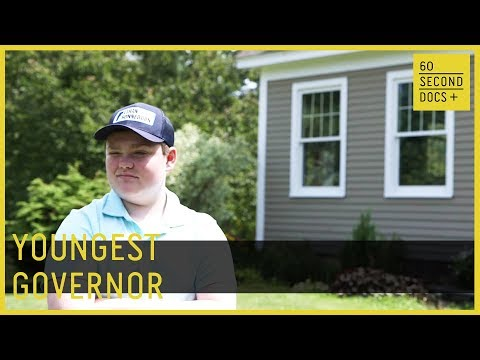 Youngest Governor Ethan Sonneborn // 60 Second Docs+