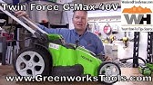 GreenWorks 25302 Lawn Mower (Don't buy it before you watch