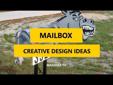 45+ Best Creative DIY Mailbox Design ideas 2017