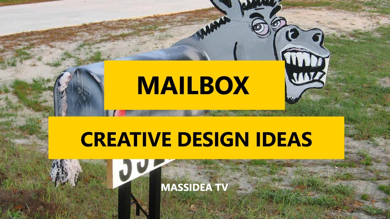 45 best creative diy mailbox design ideas 2017 - Mailbox Design Ideas