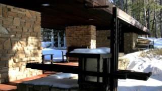 Frank Lloyd Wright - Loveness Estate in Winter
