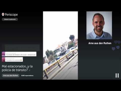 Arne aus den Ruthen:Mal estacionadosy la policía de tránsito