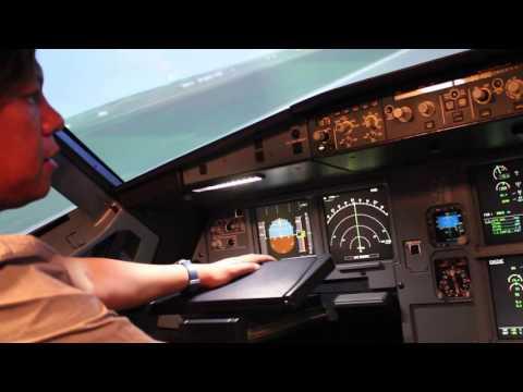 Line Engineer's Engine Run-up A320 Simulator Bangkok Oct 19-20, 2016