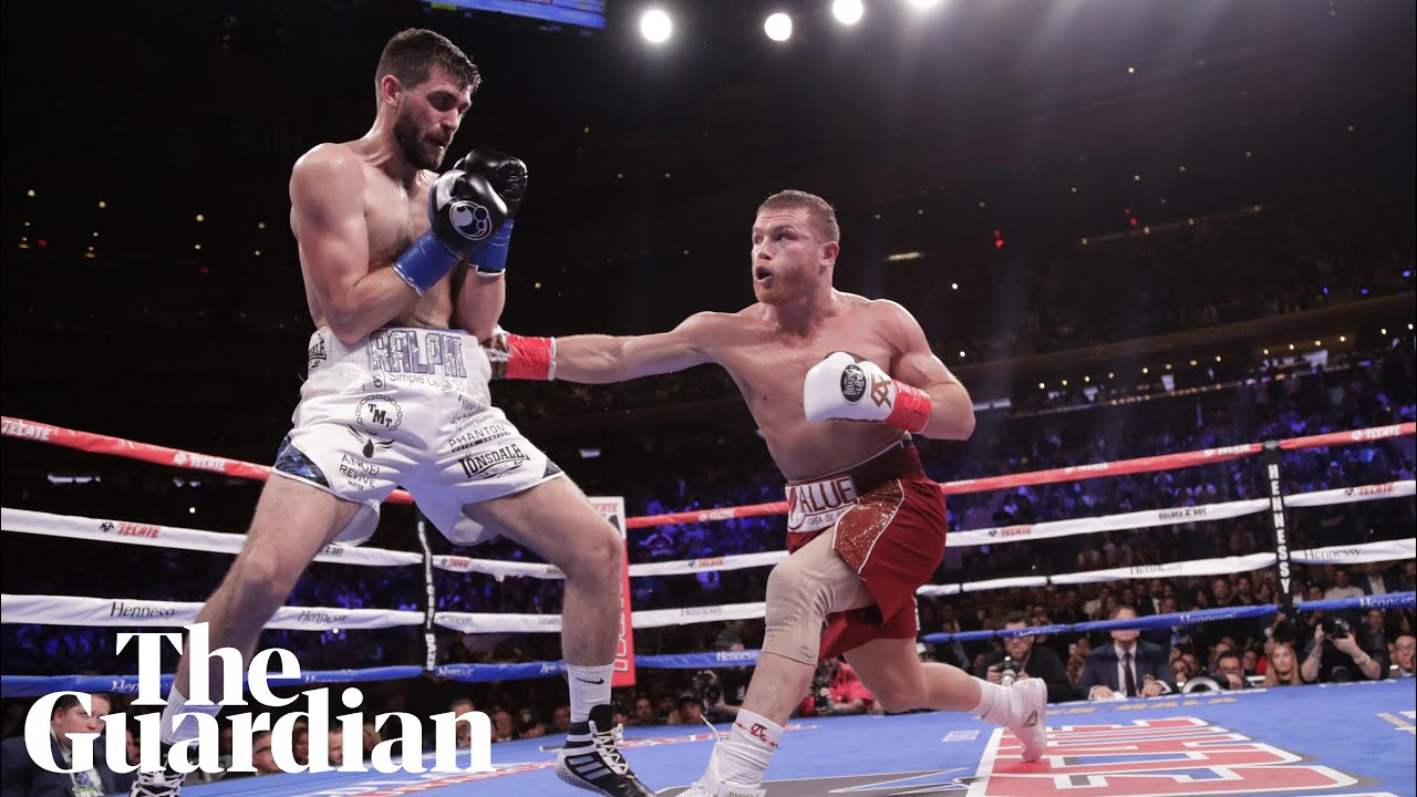 Canelo Álvarez pours it on in three-round destruction of Rocky