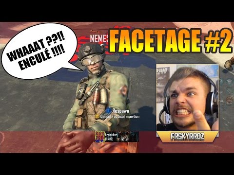 FaceTage #2 – Fails, rage et clips (BO2 & Ghosts) | SkyRRoZ