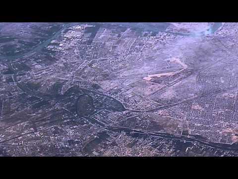 Baghdad,Middle East, 2011,Aerial,Iraq, HD.بغداد