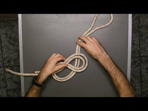 C mo cambiar las cuerdas del tendedero doovi - Nudo para tendedero ...