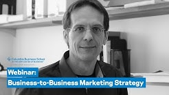 Business-to-Business Marketing Strategy