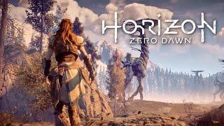 Horizon Zero Dawn #6 - Explorando o MUNDO e os robôs CORROMPIDOS