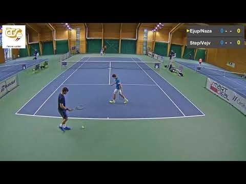 Štěpánek Vejvara vs  Ejupovic Nazaruk 10 11 2017 ITF Futures Milovice   muži