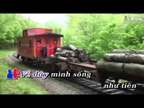 Tau Ve Que Huong   Huong Lan & Tuan Vu Karaoke Dual Audio   YouTube