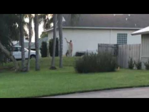 This Florida Man Won't Stop Working In His Yard Nude