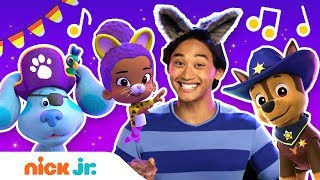 Halloween Spooky Music Video! 🎃 w/ Blue's Clues & You, PAW Patrol & Bubble Guppies! | Nick Jr.