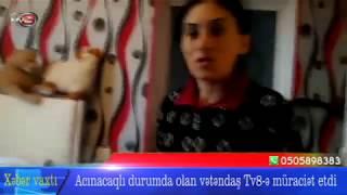 """""""Siçanla yatırıq, ayaqyolumuz yoxdur, qonşuya gedirik""""- Dəhşətli görüntülər"""