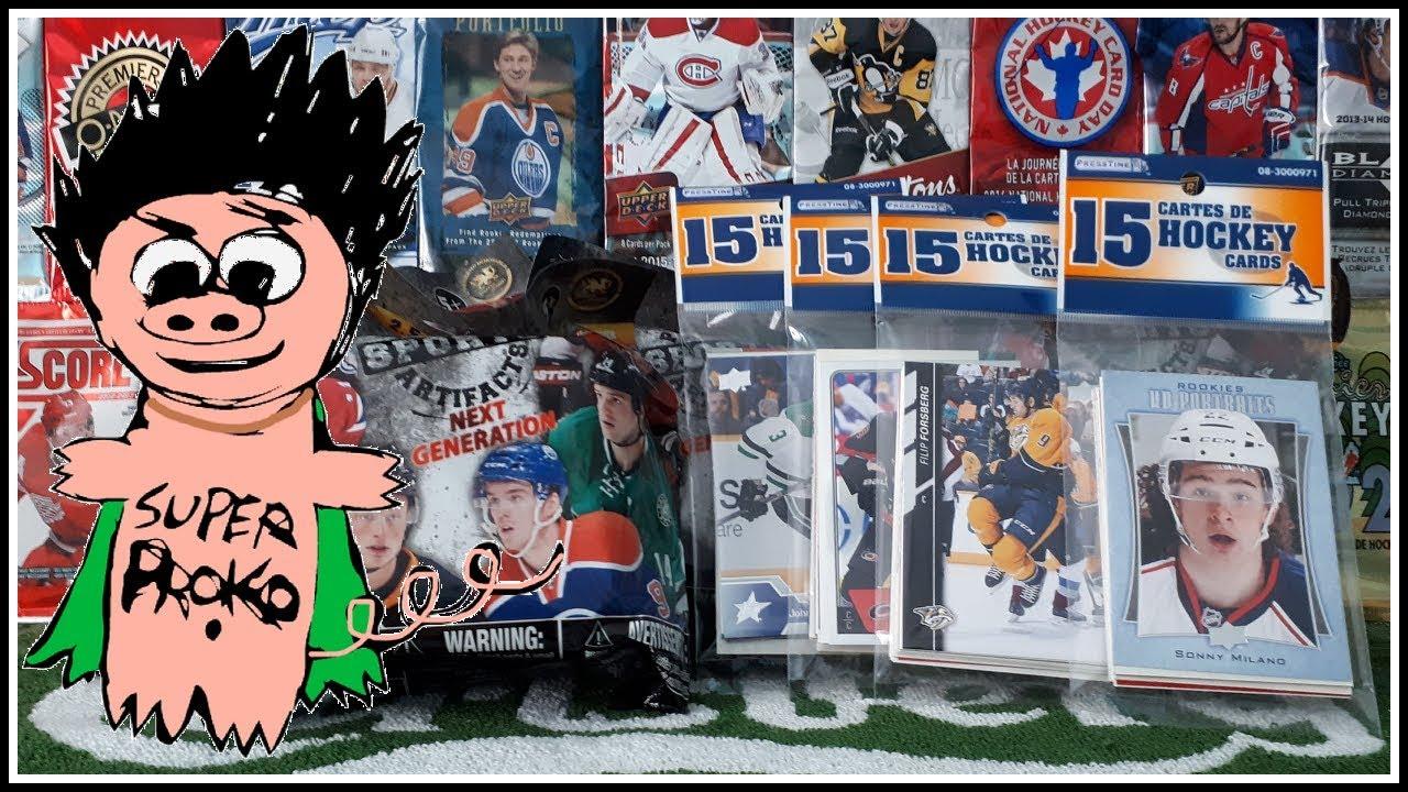 Dollarama Nhl Figurines Random Hockey Card Packs