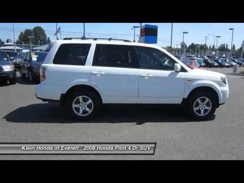 2008 Honda Pilot Everett Wa 13293p Youtube