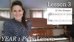 Lesson 3  Rhythm   Free Beginner Piano Lessons - [Year 1]  Lesson 1-3