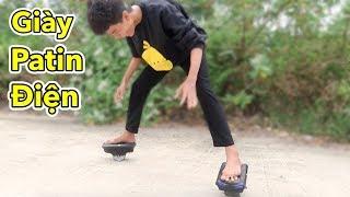 Lâm Vlog - Thử Đi Giày Trượt Cân Bằng - Giày Patin Điện | SEGWAY ELECTRIC SHOES