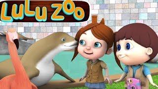 собирается зоопарк | детский стишок | Going To The Zoo | мультфильм песня в россии