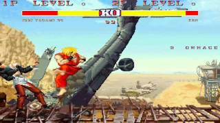 mugen capcom 1992 vs kof 1995 street fighter ii champion edition vs the king of fighters 95