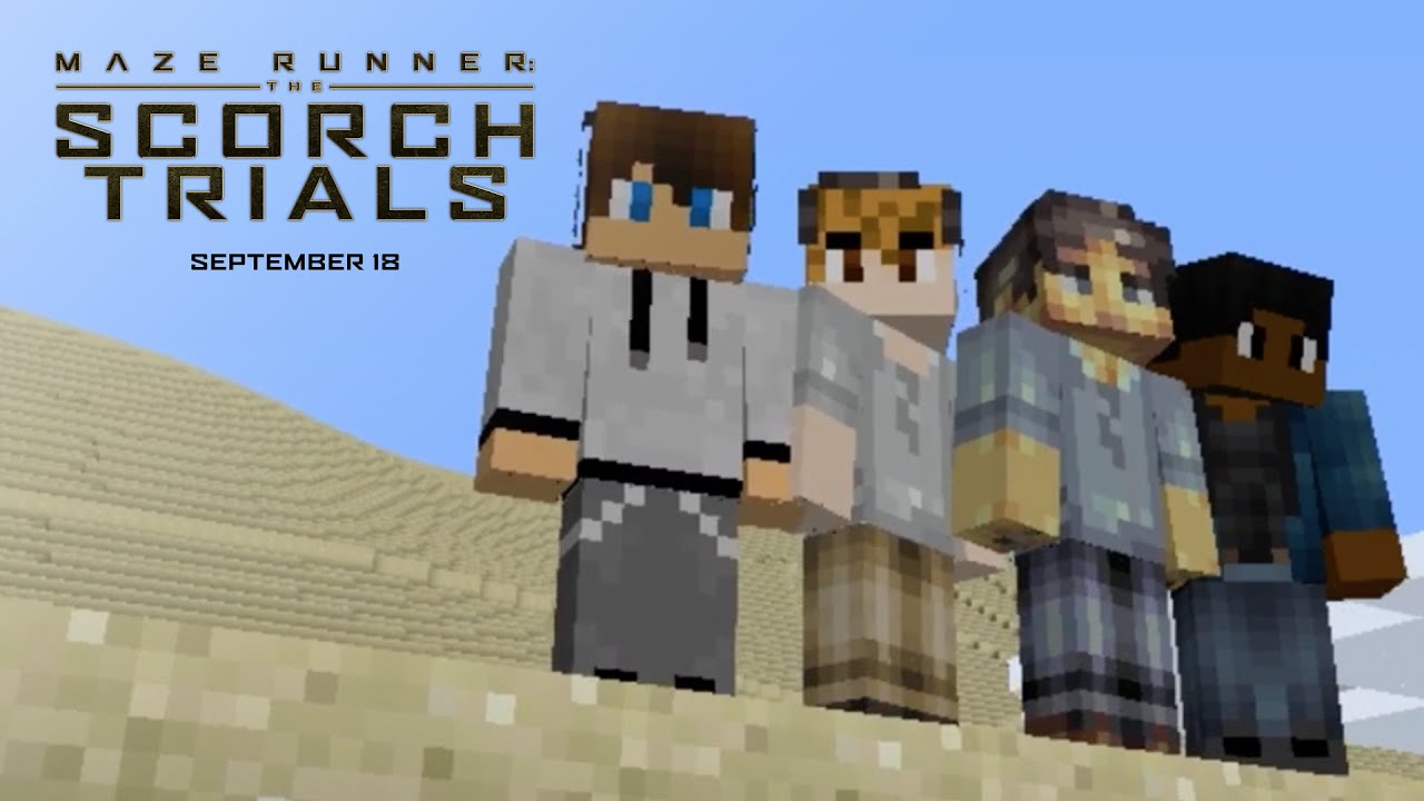 Maze Runner: The Scorch Trials | Minecraft Trailer [HD] | 20th Century FOX