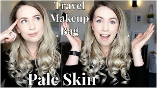 What's in my Pale Skin Friendly Travel Makeup Bag?