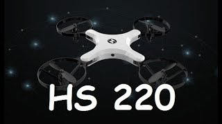 Селфи-дрон Holy Stone HS220 | Розпакування і обліт | MikeRC 2018 FHD
