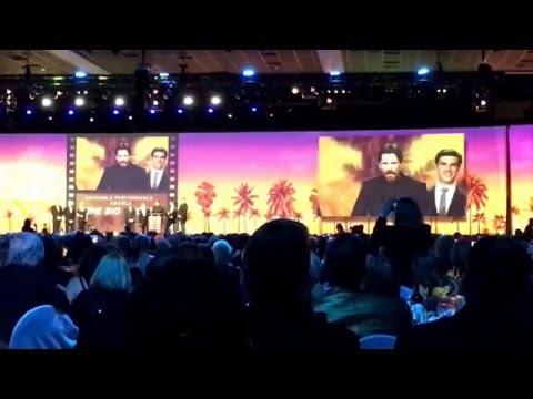 """The Big Short"" wins best ensemble cast at Palm Springs Film Festival- Steve Carell & Christian Bale"