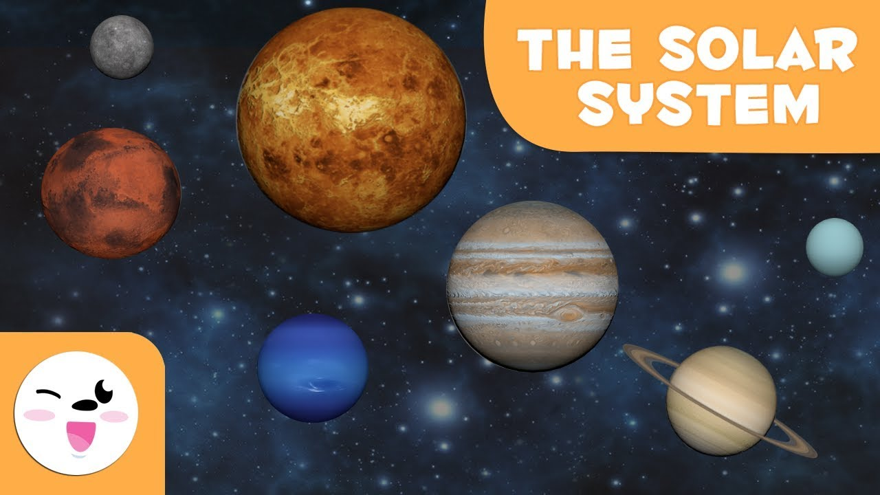 The Solar System 3D animation for kids - Educational video