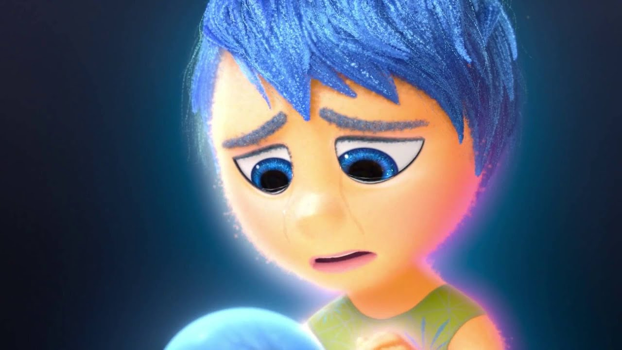 Inside Out Joy Is Sad Scene Youtube