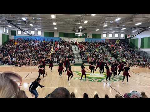 Red Bluff High School Dance II Holiday Classic 2019 Routine